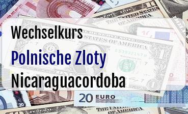 Polnische Zloty in Nicaraguacordoba