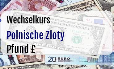 Polnische Zloty in Britische Pfund