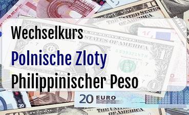 Polnische Zloty in Philippinischer Peso
