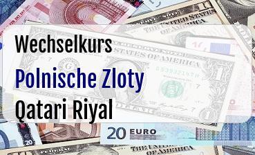 Polnische Zloty in Qatari Riyal