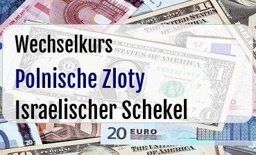 Polnische Zloty in Israelischer Schekel