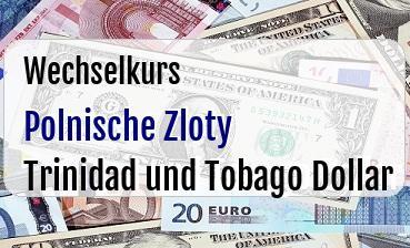 Polnische Zloty in Trinidad und Tobago Dollar